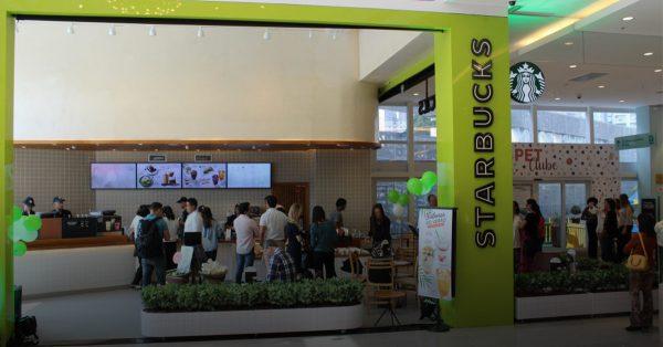 Implantação do sistema de sonorização da Starbucks - Shopping Morumbi Town