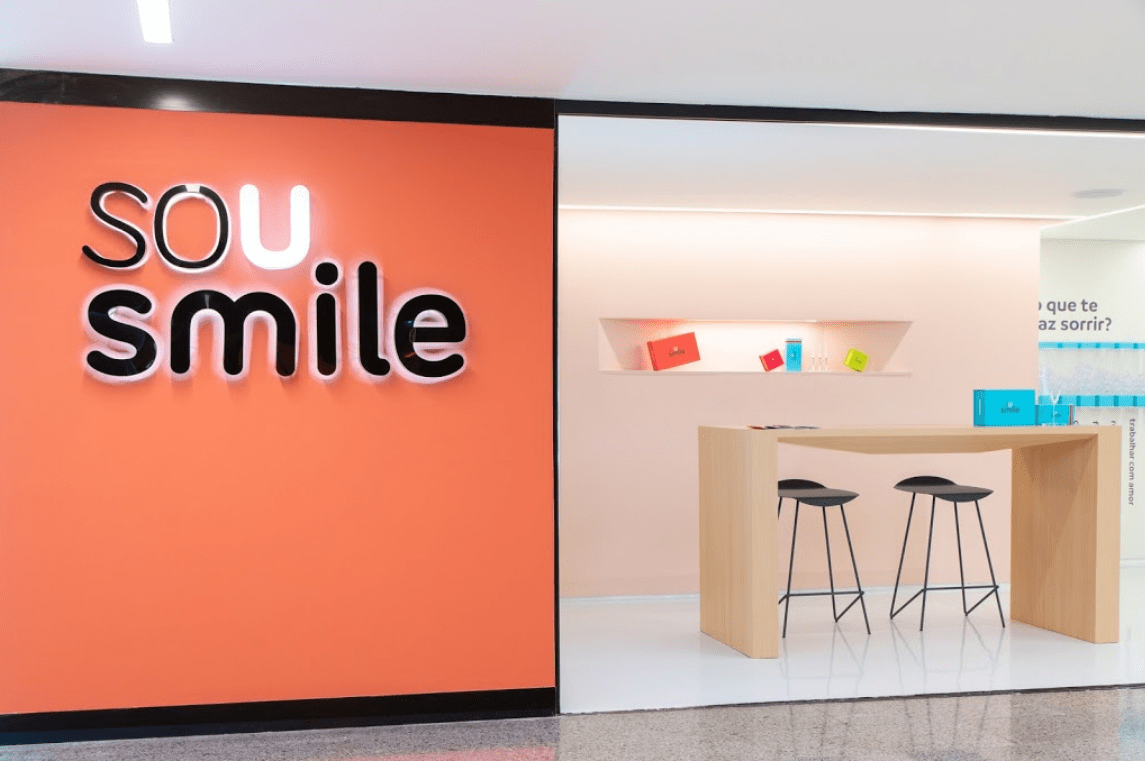 Projeto finalizado: Sou Smile - Shopping Top Center Paulista