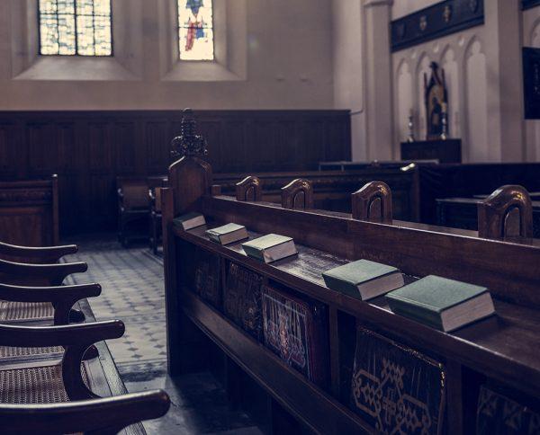 Sonorização ambiente em igrejas